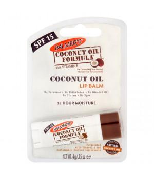 Балсам за устни с кокосово масло и SPF15  4гр.